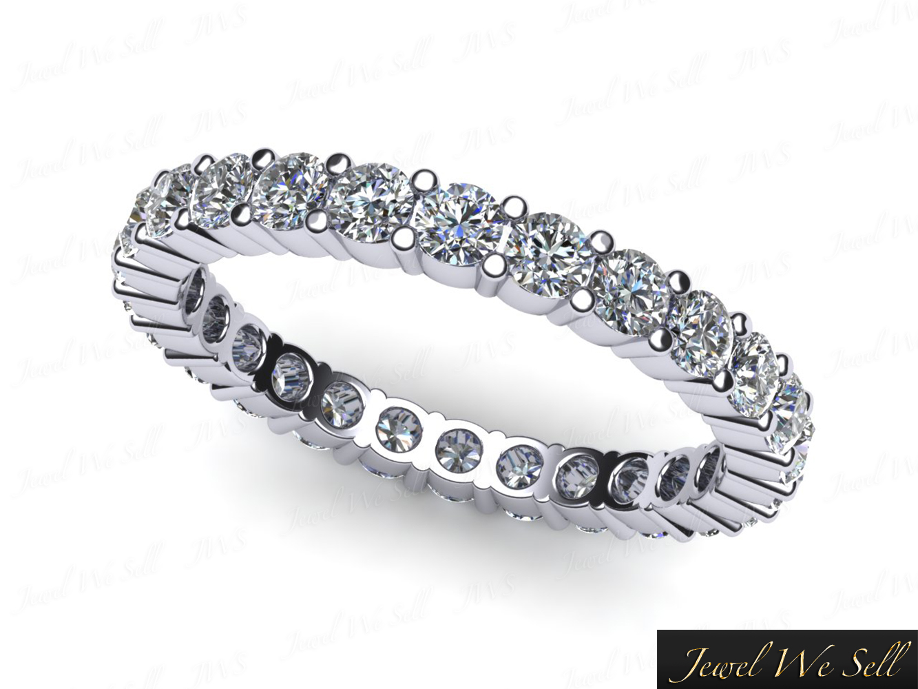 in p ct pav bands ring white pave shop eternity band gold diamond tw
