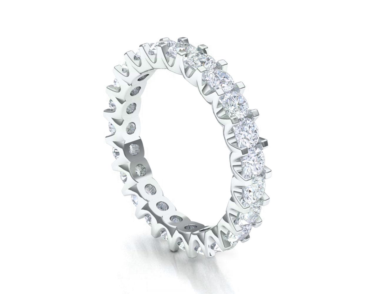 Natural 2 40ct Round Diamond Shared U G
