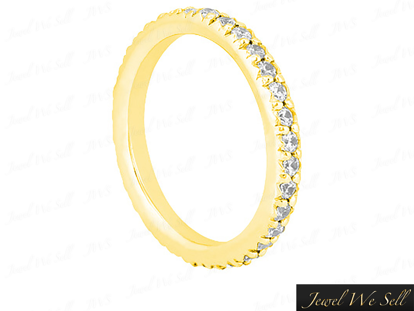0-70Ct-Round-Cut-Diamond-Pave-Set-Anniversary-Eternity-Band-Ring-10K-Gold-G-H-I1 thumbnail 6