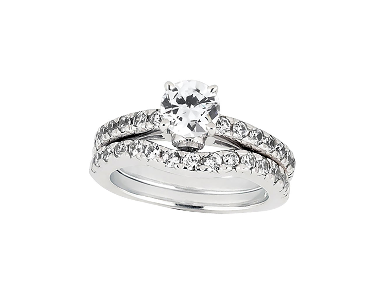 175ct round cut diamond engagement ring wedding band set for Sell wedding ring set