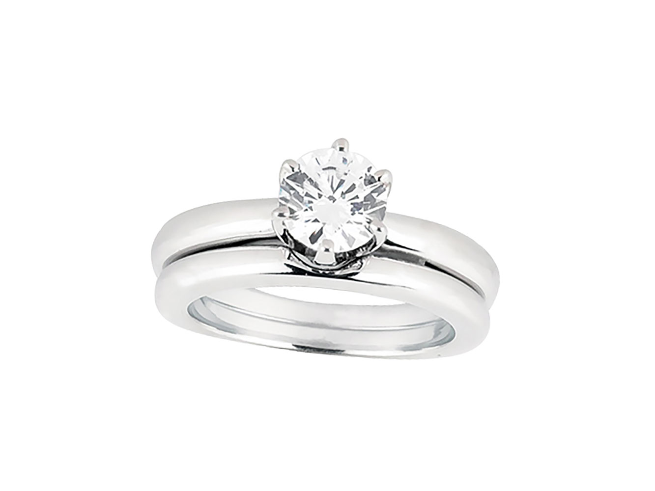 Natural 0 50ct Round Diamond Solitaire Bridal Engagement