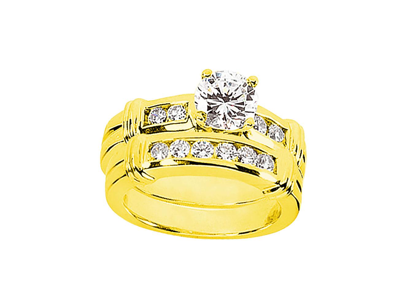 100ct round cut diamond engagement ring wedding band set for Sell wedding ring set