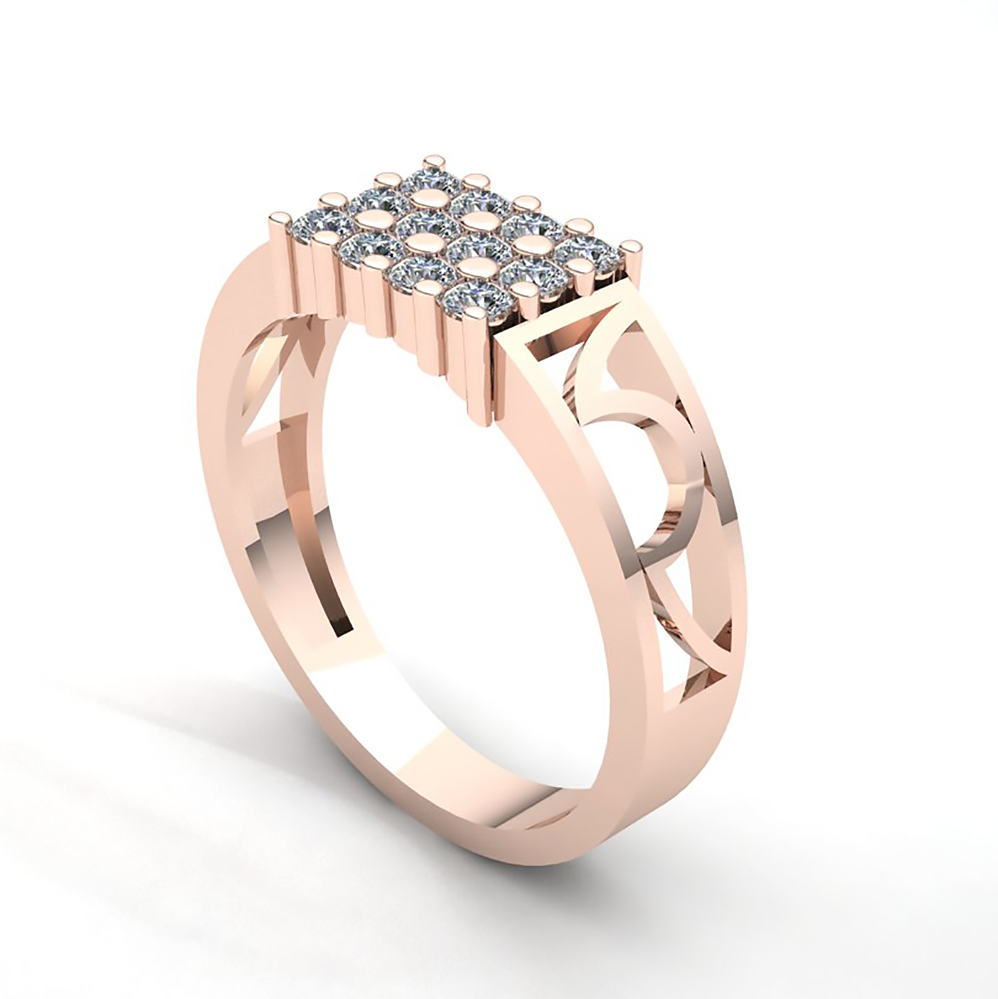 Genuine 0 25ctw Round Cut Diamond Classic Mens Wedding Band Ring 10k