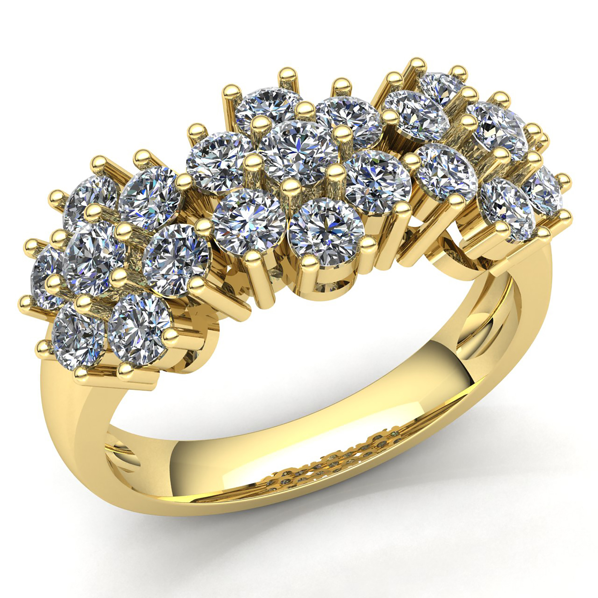 Rings Gold with diamonds women best photo