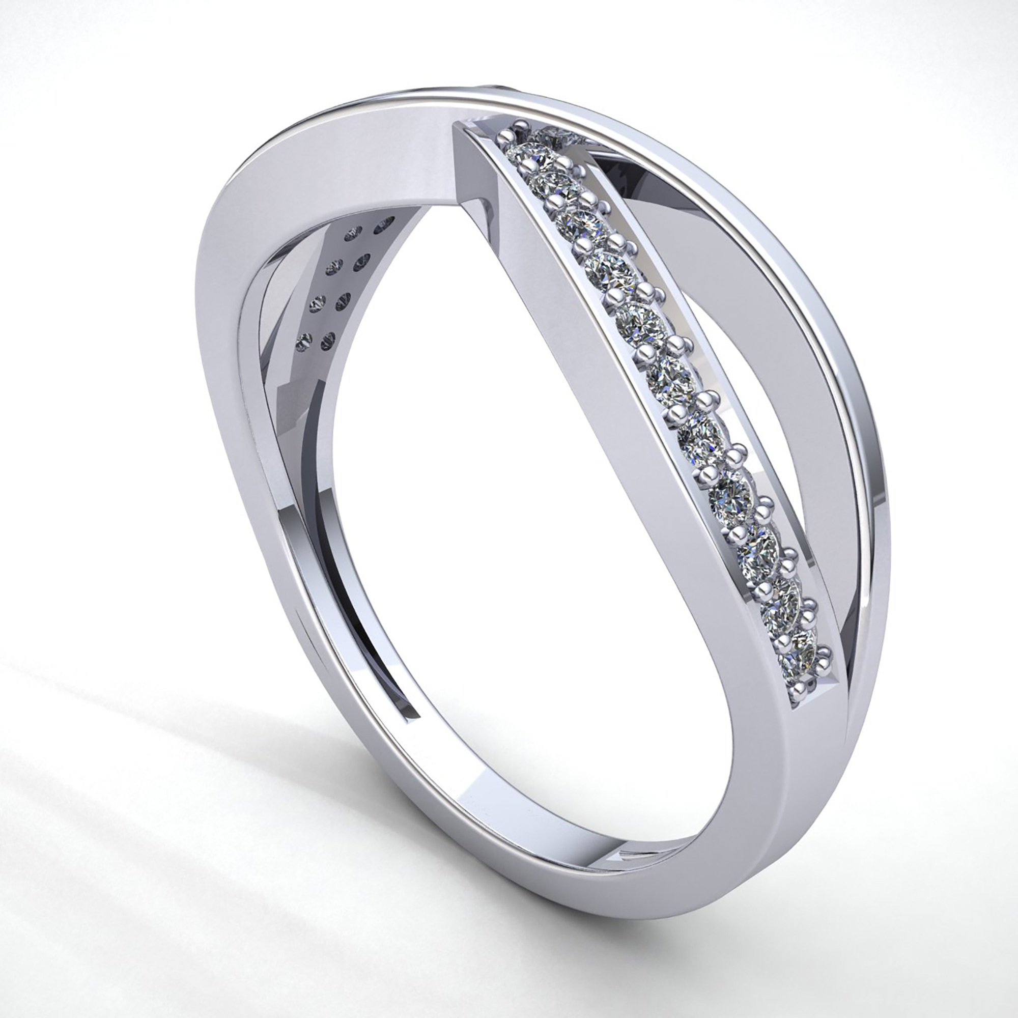 band for infinity and diamonds with gold diamond bands wedding mens