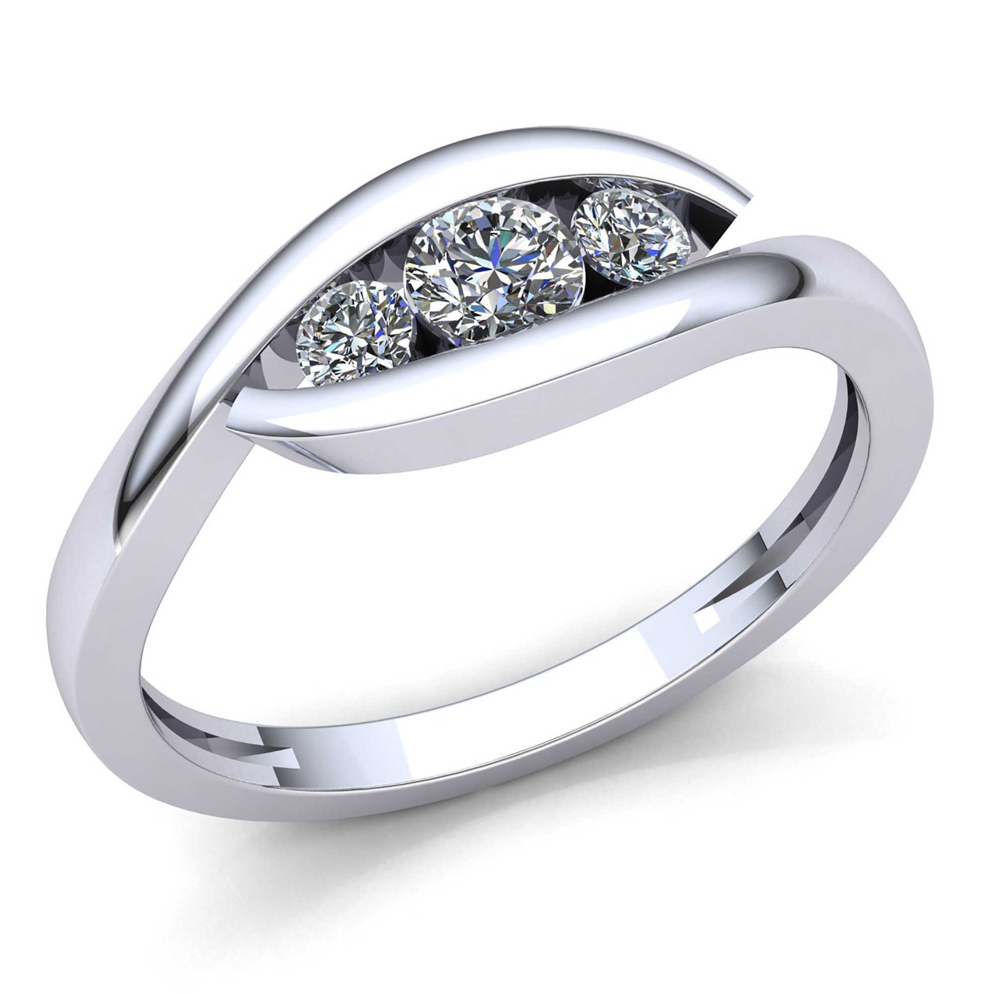 bands see engagement i ring wedding to of stone three band rings pertaining can diamond your with best collection
