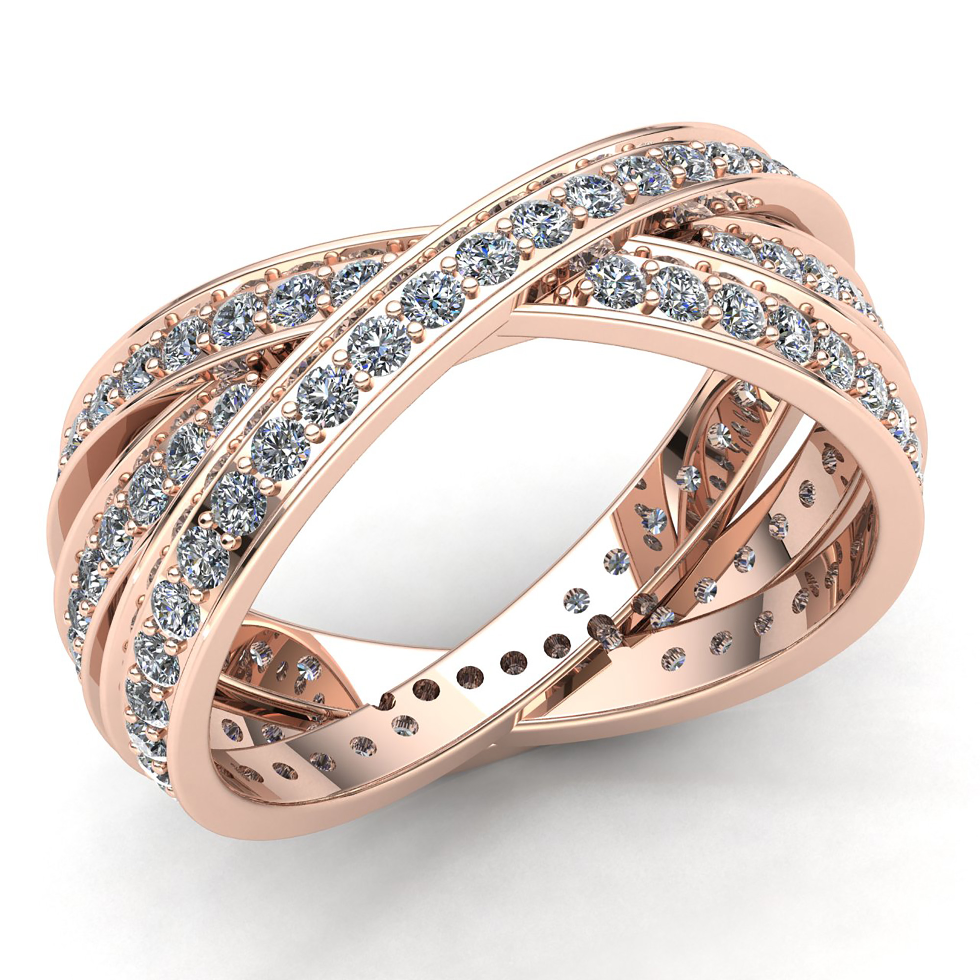 bands band dia b wavy jewel jewelry rings bridal wedding we jewelwesell round yg prod diamond fancy cut personalized a genuine ladies net gold anniversary src sell rose sears