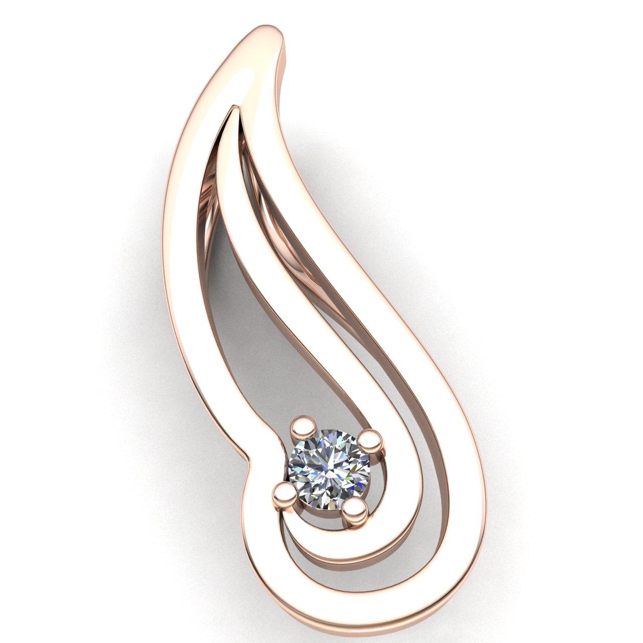 Genuine 025ctw round cut diamond ladies forever one promise pendant genuine 0 25ctw round cut diamond ladies forever aloadofball Choice Image