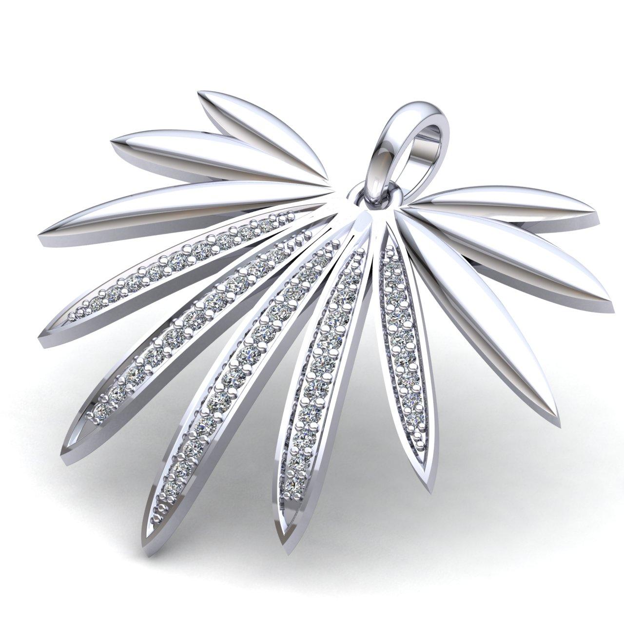 0-75carat-Round-Cut-Diamond-Ladies-Anniversary-Gift-Modern-Pendant-14K-Gold thumbnail 10