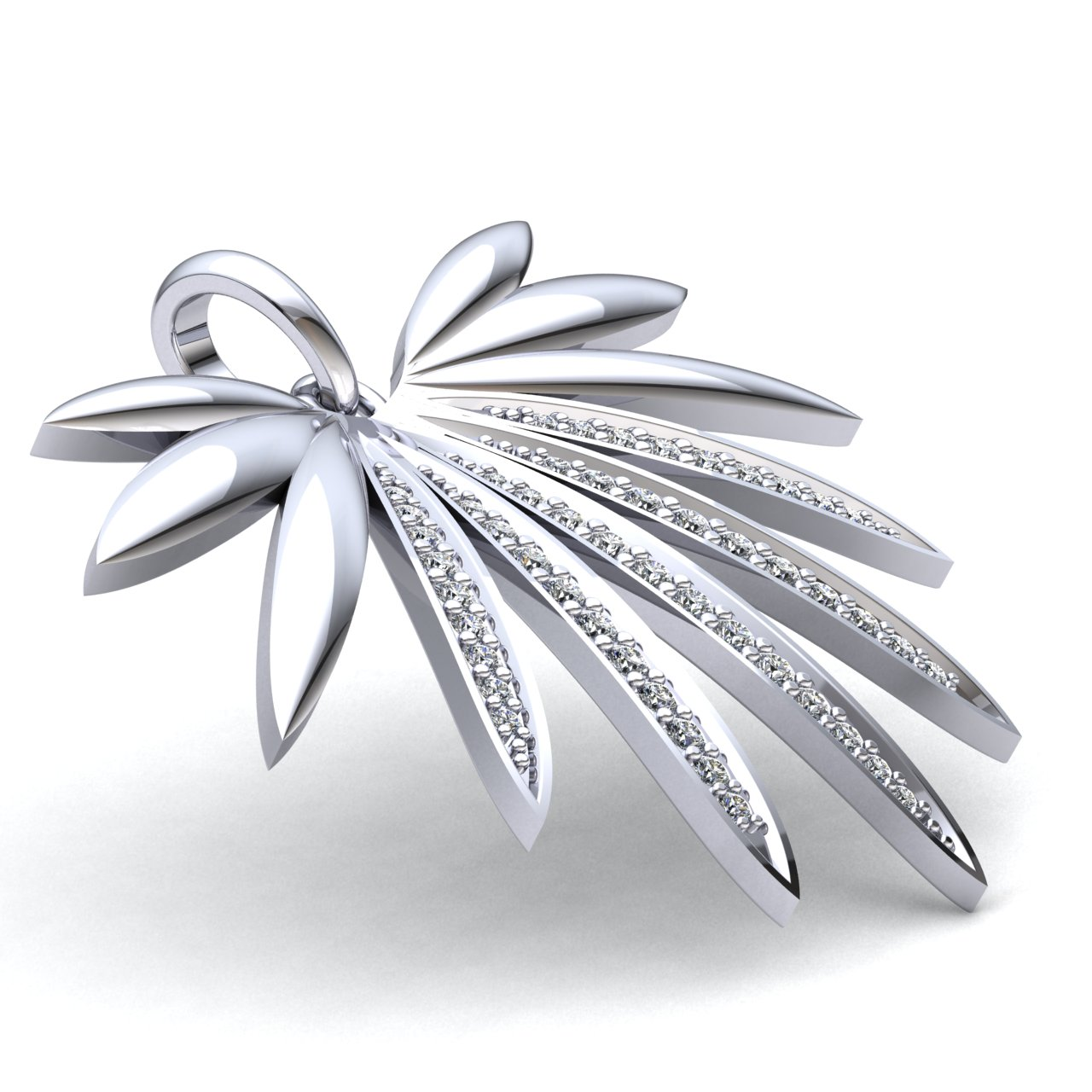 0-75carat-Round-Cut-Diamond-Ladies-Anniversary-Gift-Modern-Pendant-14K-Gold thumbnail 11
