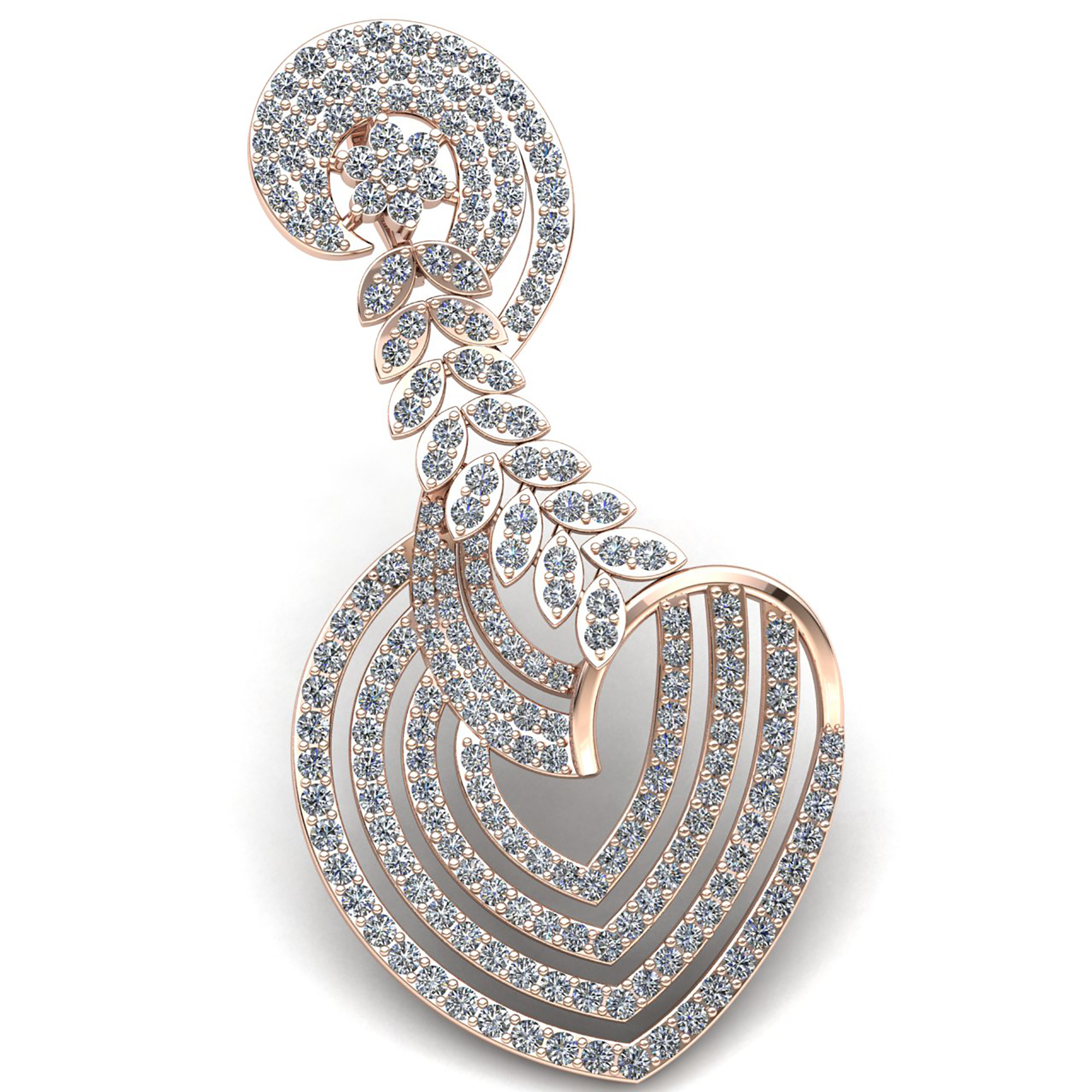spiral gold product detail pendant categories pendants