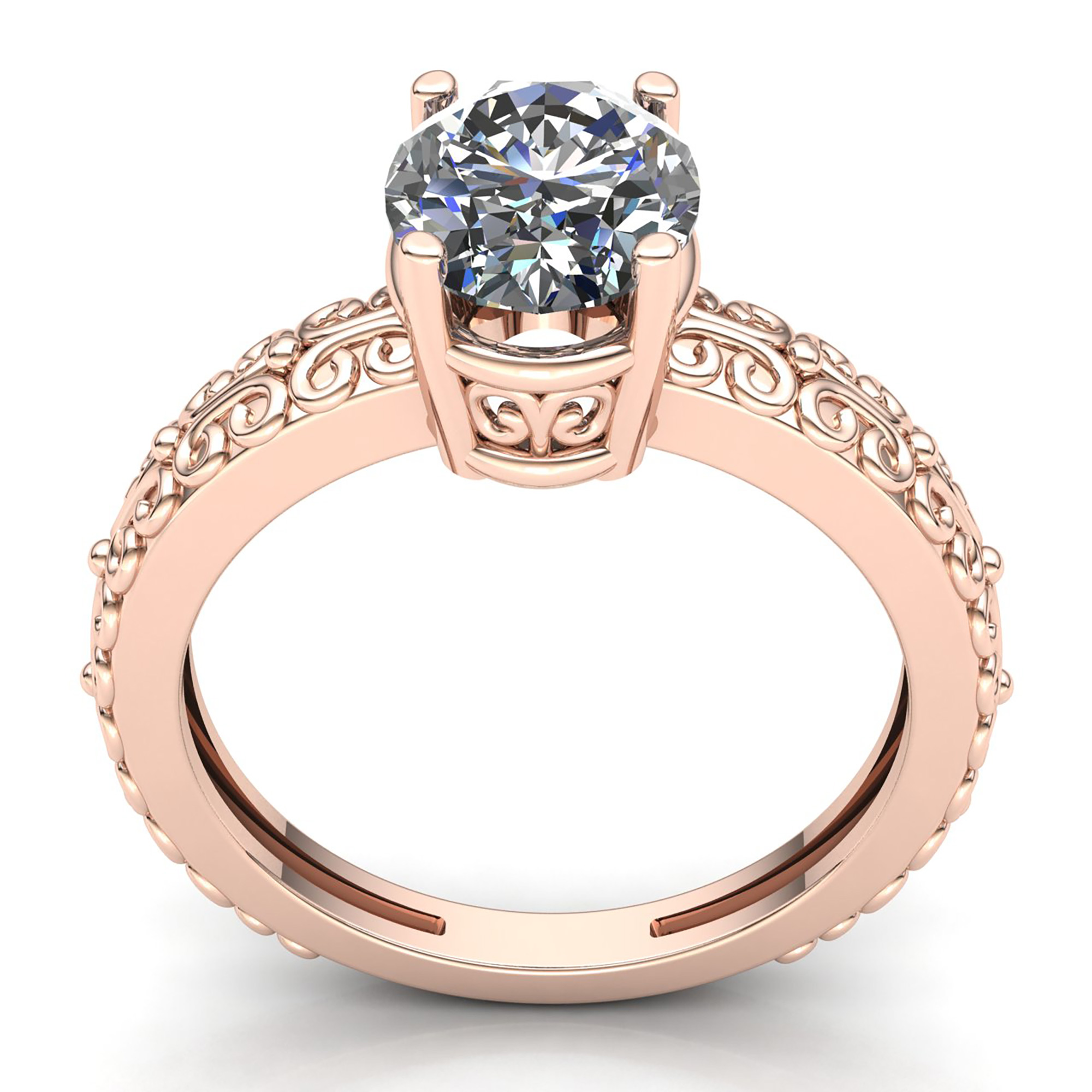 genuine oval cut diamond ladies bridal solitaire engagement ring 14k gold ebay. Black Bedroom Furniture Sets. Home Design Ideas