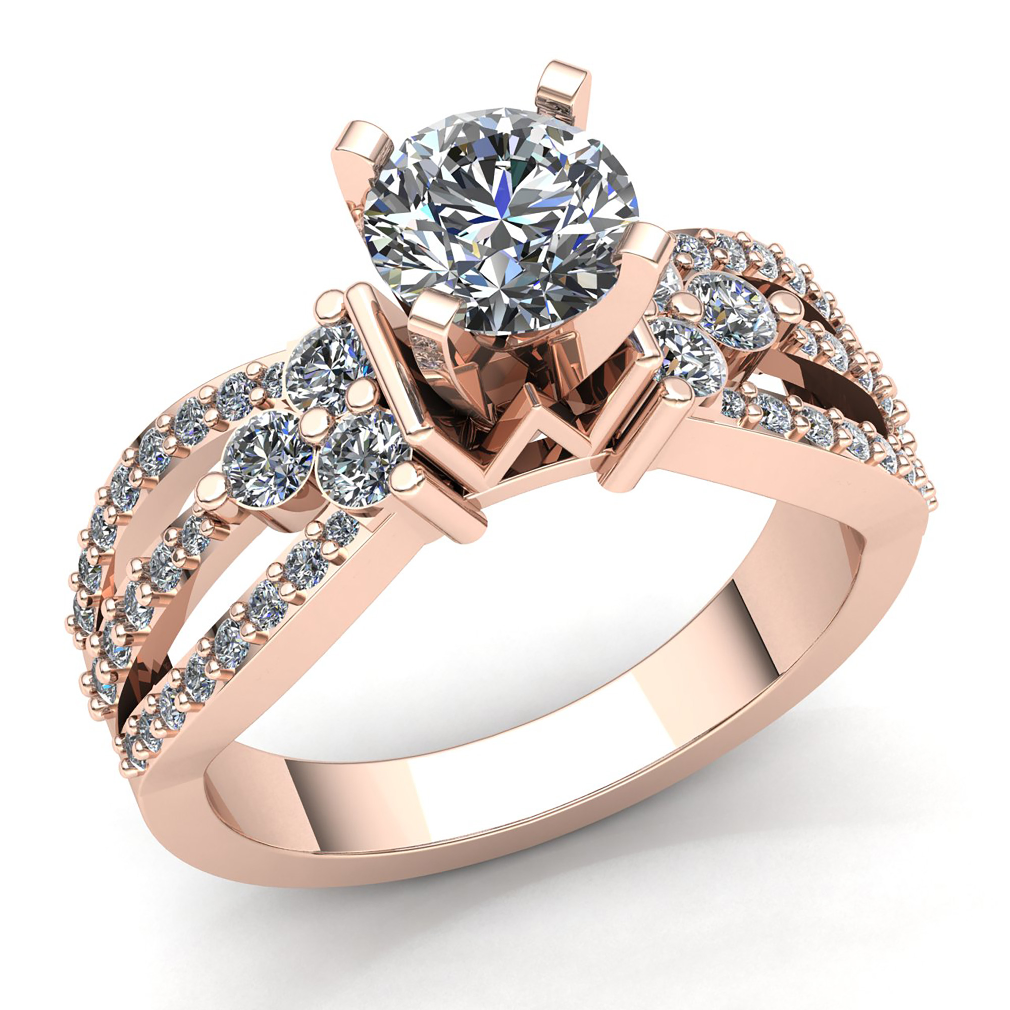 gold rings martin wedding diamond gear jewellers product ring cluster