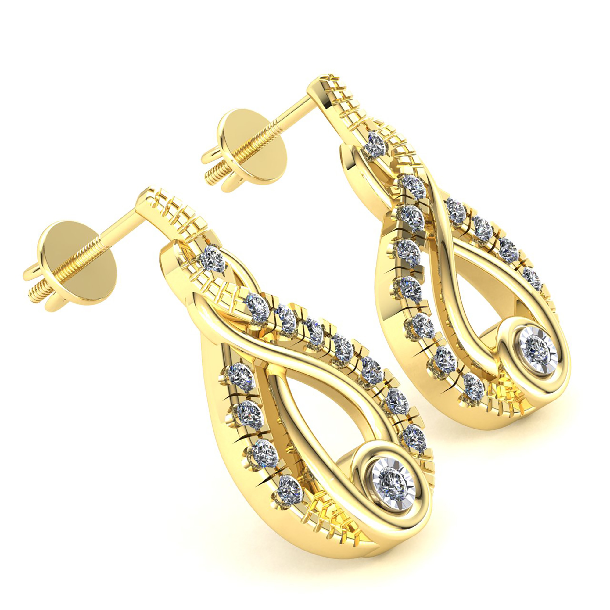earrings clarity cttw amazon i diamond jewelry gold curve the com dp color ear j pin