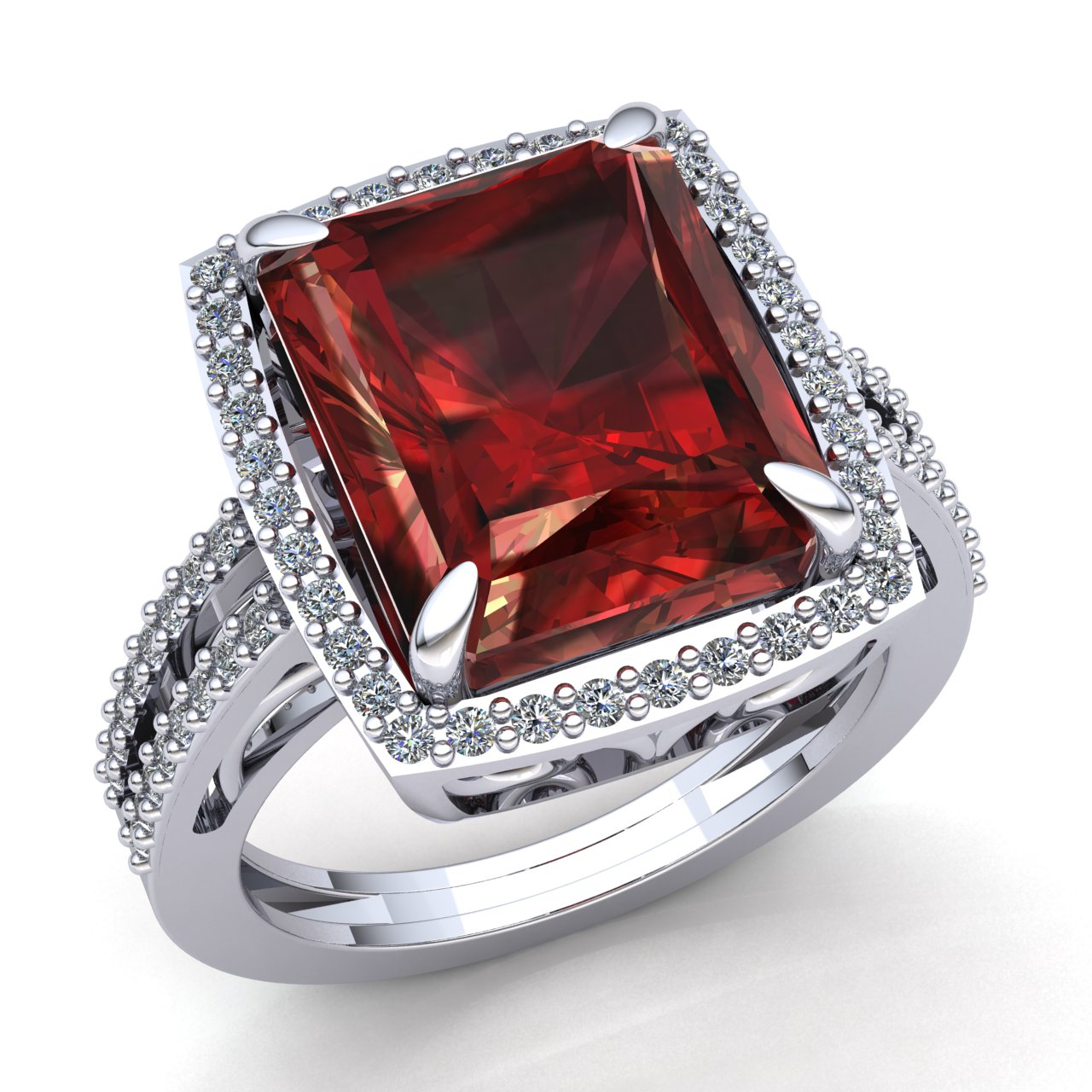 ruby sale white diamond engagement cocktail product rings ring stunning for gold