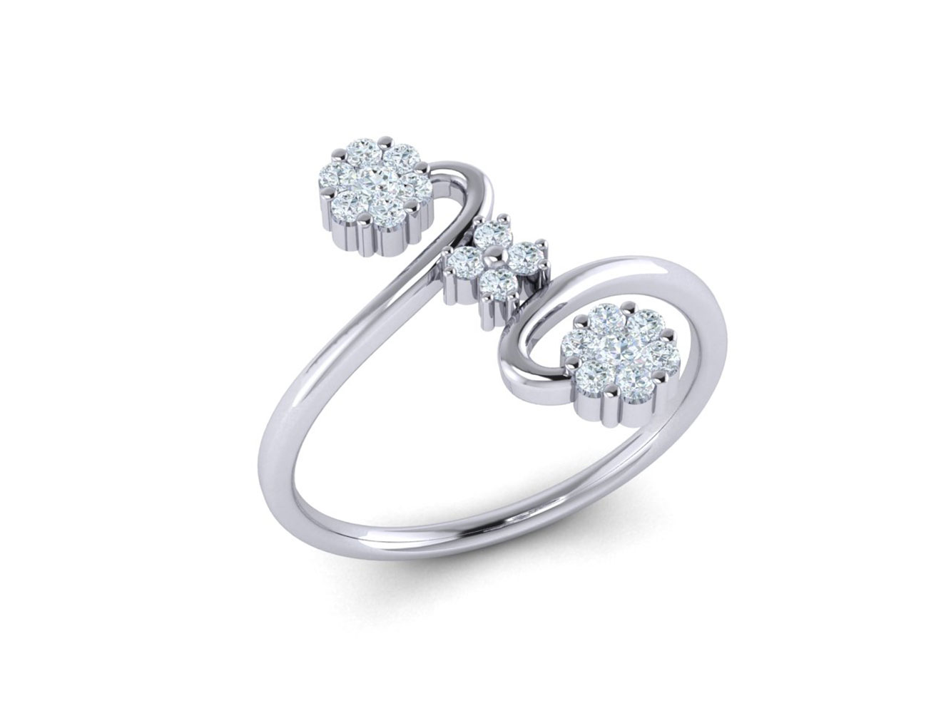 721d753ae0a9c Details about Genuine 0.3ctw Round Cut Diamond Fancy Forever Us Engagement  Ring 18K Gold G SI1